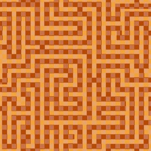 Meandering After Anni Albers