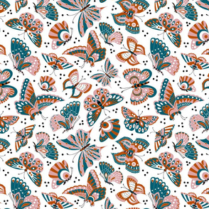 Butterflies - limited palette