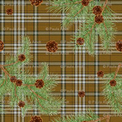 Blairhoyle Forest Tartan mini
