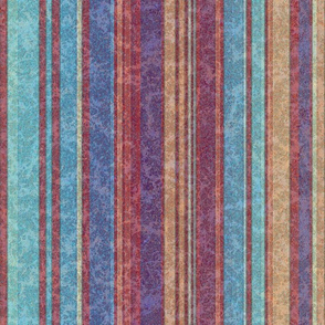 Warmly Rustic:  Vertical Stripes
