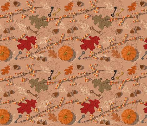 Fall is in the Air fabric by tangerine_avenue_ on Spoonflower - custom fabric