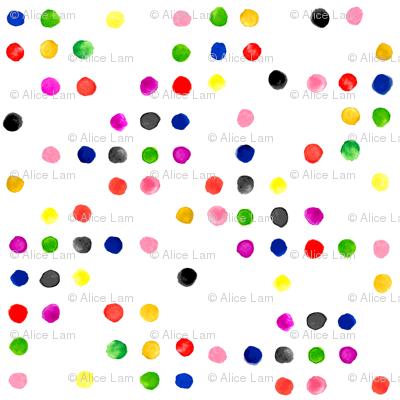 Watercolor Dot