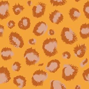 Cheeeetah saffron animal print