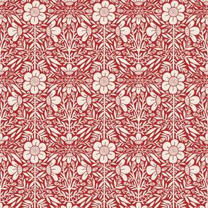 FolkFloral | Red
