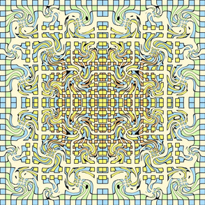 Filigree Mosaic, 0860k