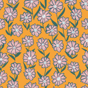 Sunny 70's Floral