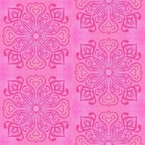 Pink Medallion