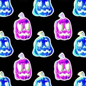 pumpkins inverted halloween