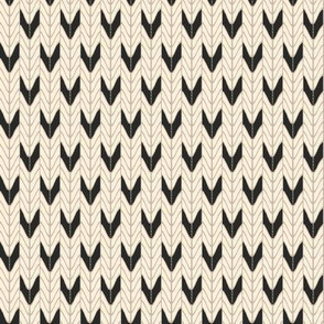 Chevron Knit  / Neutral