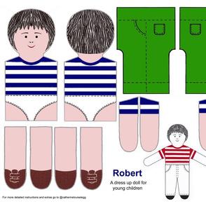 Robert a dress up doll kit