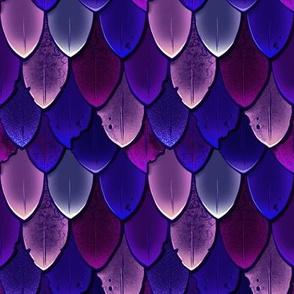 Dragon Scales Purple