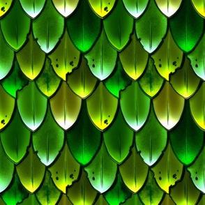 Dragon Scales Green