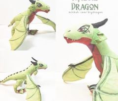 Cut and Sew Dragon Plush