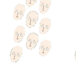 Saitama face pattern