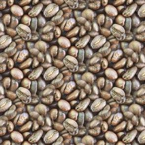 Coffee Beans   Seamless Photo Print