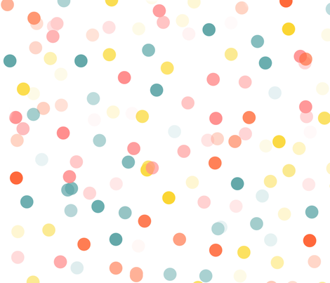 Polka Dots Everywhere fabric by yes_please_design_studio on Spoonflower - custom fabric