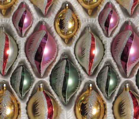 Vintage Romanian ornaments large fabric by leroyj on Spoonflower - custom fabric