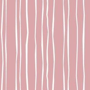 Wide Blush Stripe