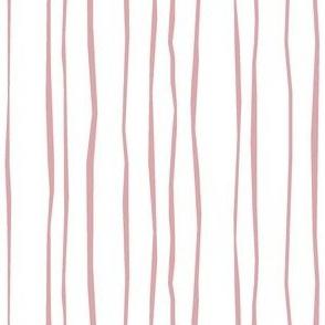 Narrow Blush Stripe