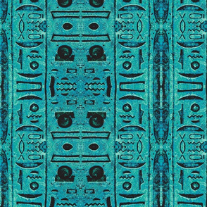 Mood Egyptian, 1-faux faience