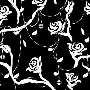 Rose Bush Black