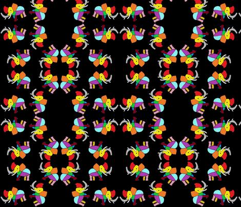 dancing tillie fabric by angelheartdesigns on Spoonflower - custom fabric