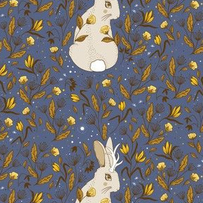 Jackalope Floral, Harvest Colors, Big