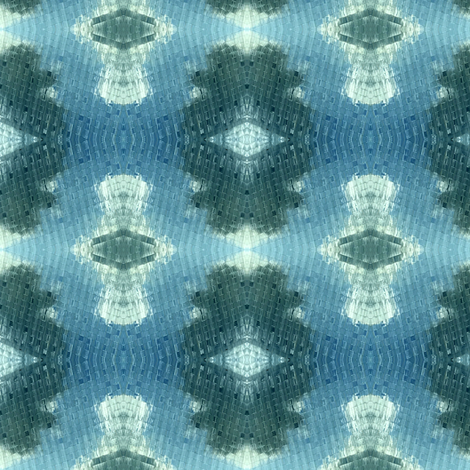 Clouds Reflected on Austin High Rises fabric by susaninparis on Spoonflower - custom fabric