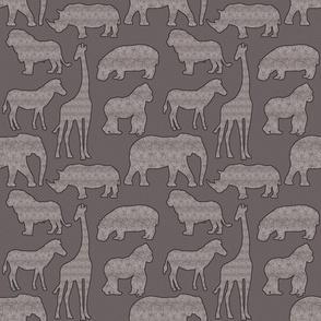 Gender Neutral Safari Design