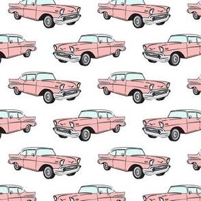 Classic Car - Sedan - 50s 60s - pink