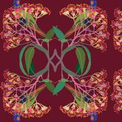 2941-Rainbow-Lorikeet2-Nouveau-Claret