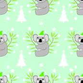 Koala Christmas Pattern