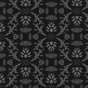 Monochrome Thistles