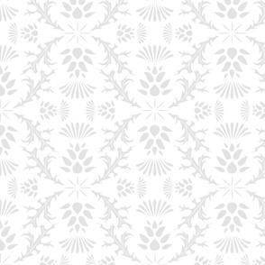 Thistles on White