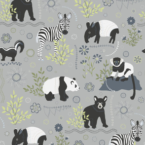 Zoo babies - larger scale