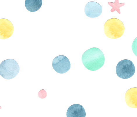 Space Bubbles fabric by crafted on Spoonflower - custom fabric