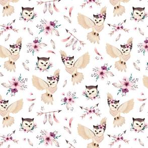 Bohoo Owl - SMALL