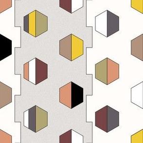 60s Style Geometric Print II