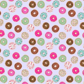"8"" donut blue purple"