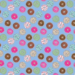 "8"" donut blue"