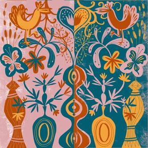 flower folk art