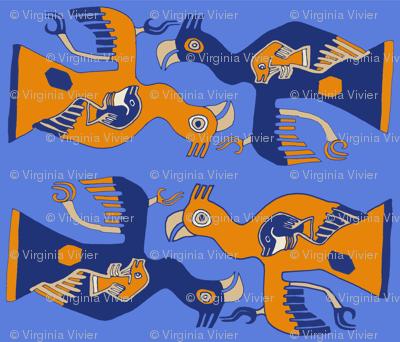 Peruvian Aves Blue