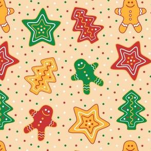 Gingerbread Cookies Vanilla