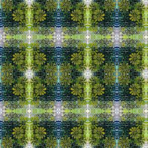 Green and Blue Kaleidoscope