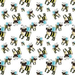 bumplepug bumble bee pugs small scale