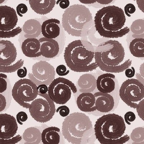 Mauve Spirals