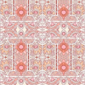 The 8,076,920th Floral on Spoonflower