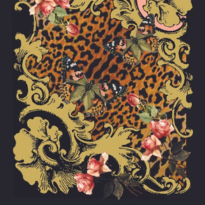 Baroque Butterfly Scarf