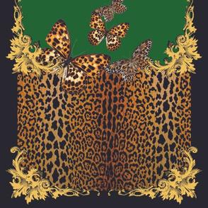 Leopard Flutter Scarf