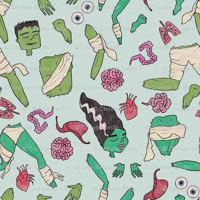 Dr. Frankenstein's Body Parts